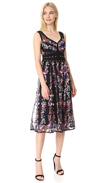 Nanette Lepore Michelle Dress - Black/Multi