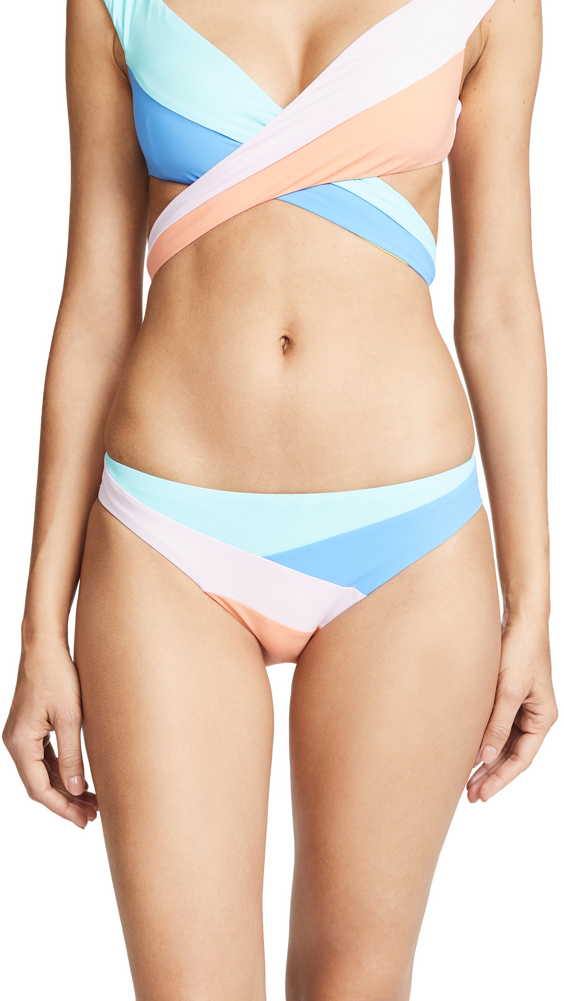 Nanette Lepore Burano Island Charmer Bikini Bottoms In Multi
