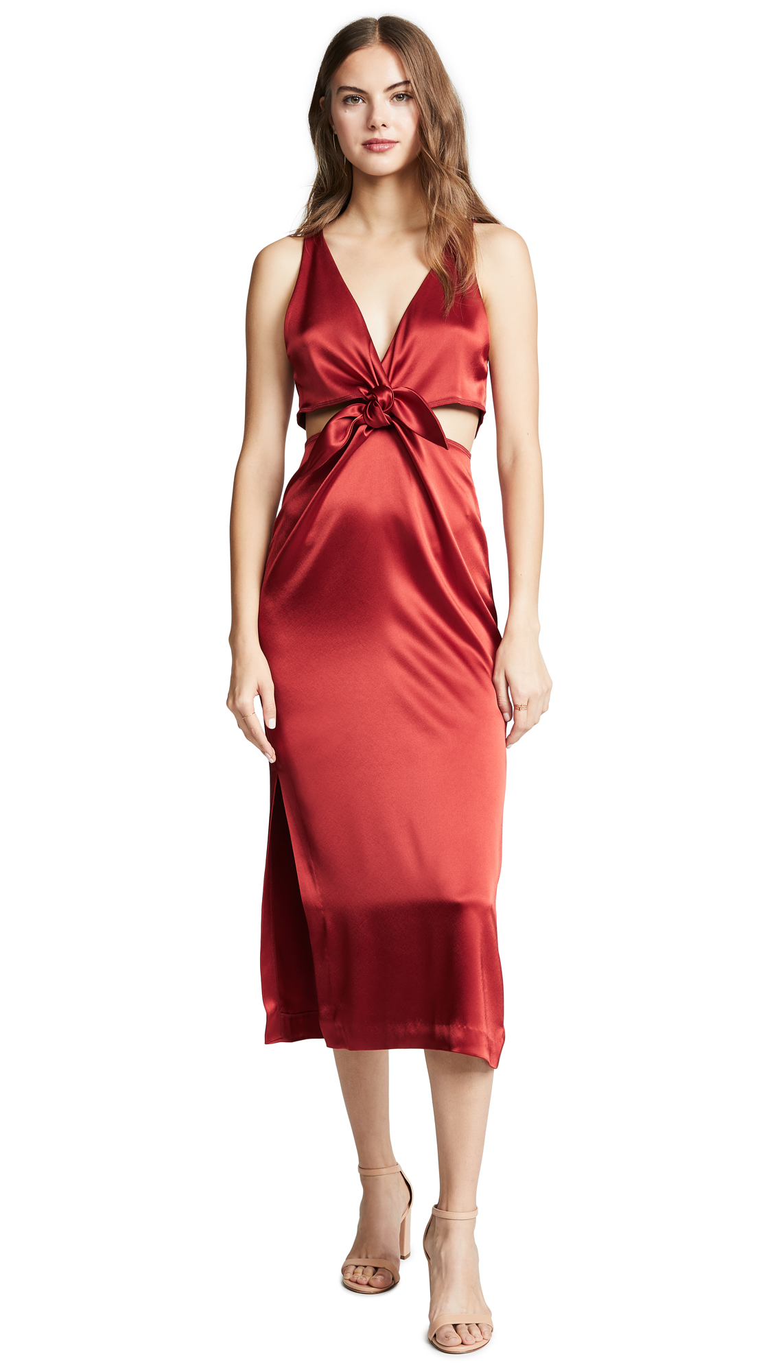 Nanushka Regina Dress - Red