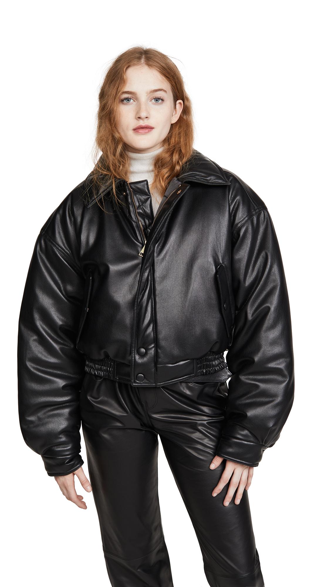 Buy Nanushka online - photo of Nanushka Bomi Bomber Jacket