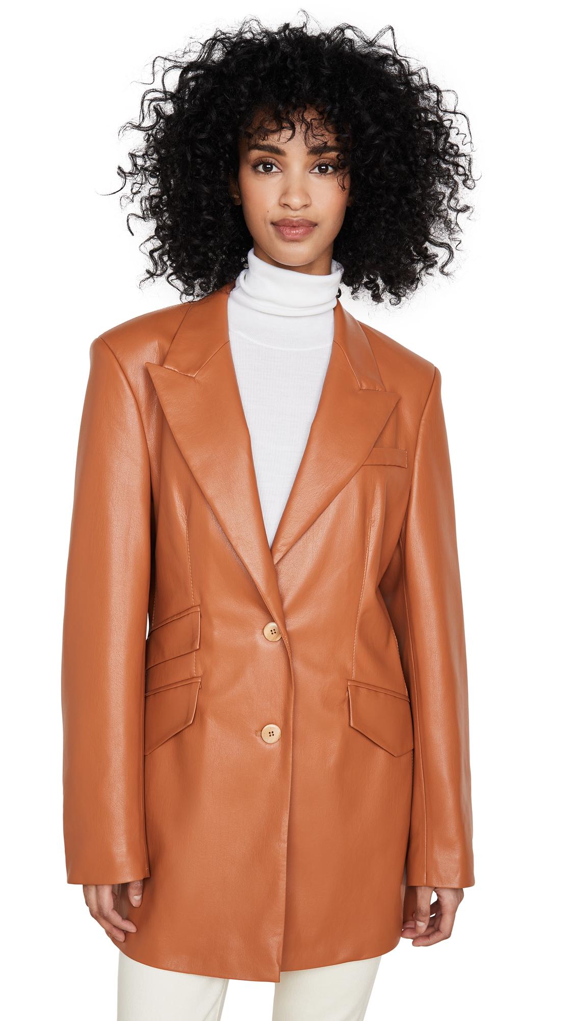 Buy Nanushka Cancun Coat online beautiful Nanushka Clothing, Jackets