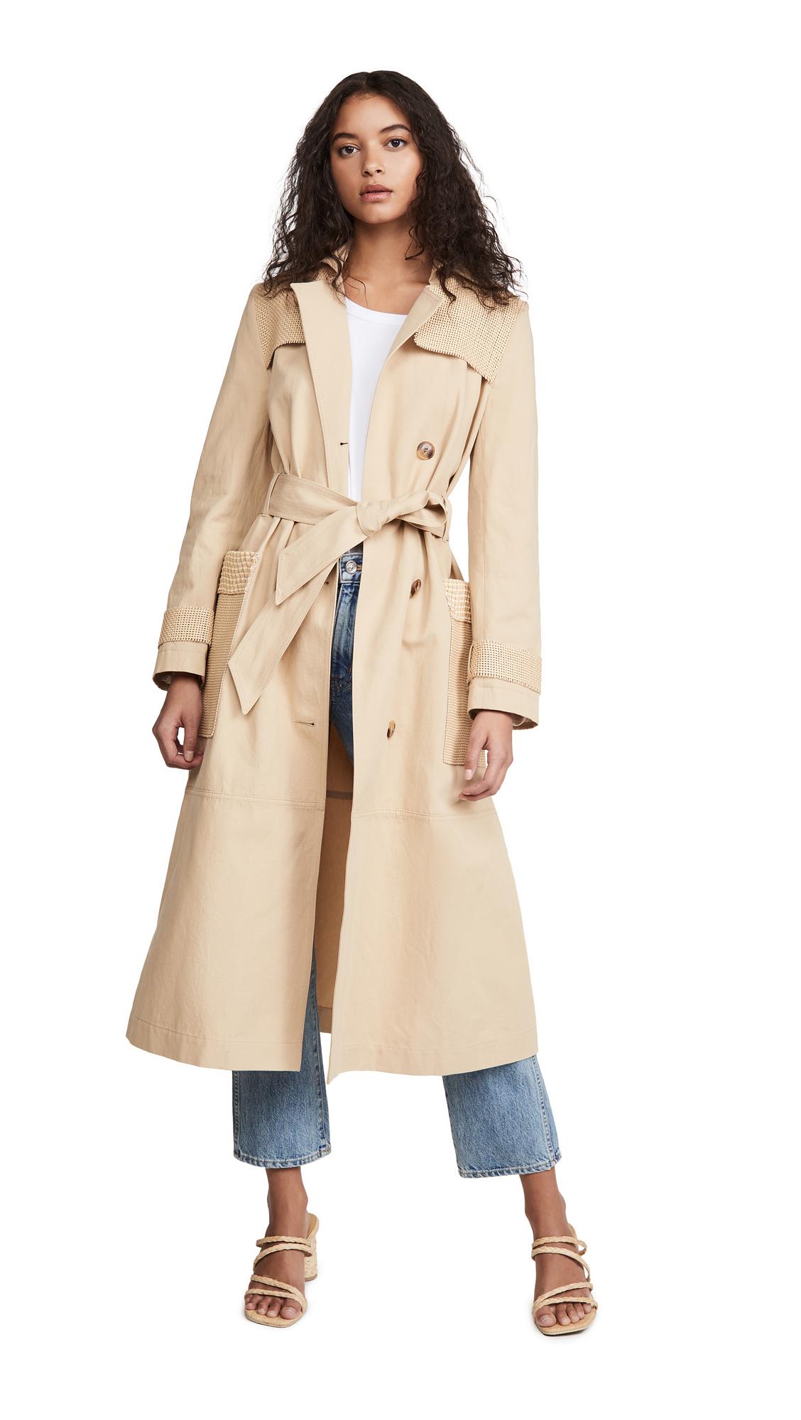 Buy Nanushka Alex Trench online beautiful Nanushka Jackets, Coats, Trench Coats