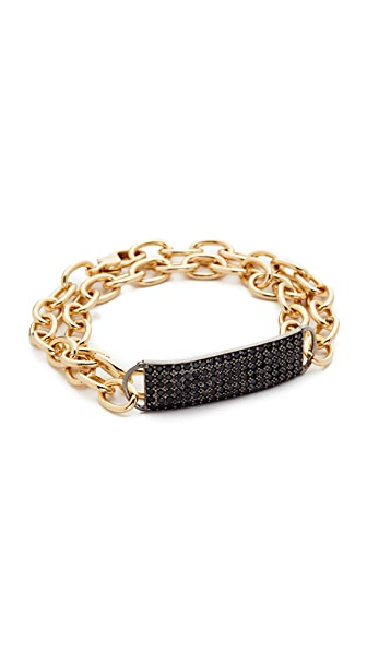 Nathan & Moe Coco Double Wrap ID Bracelet