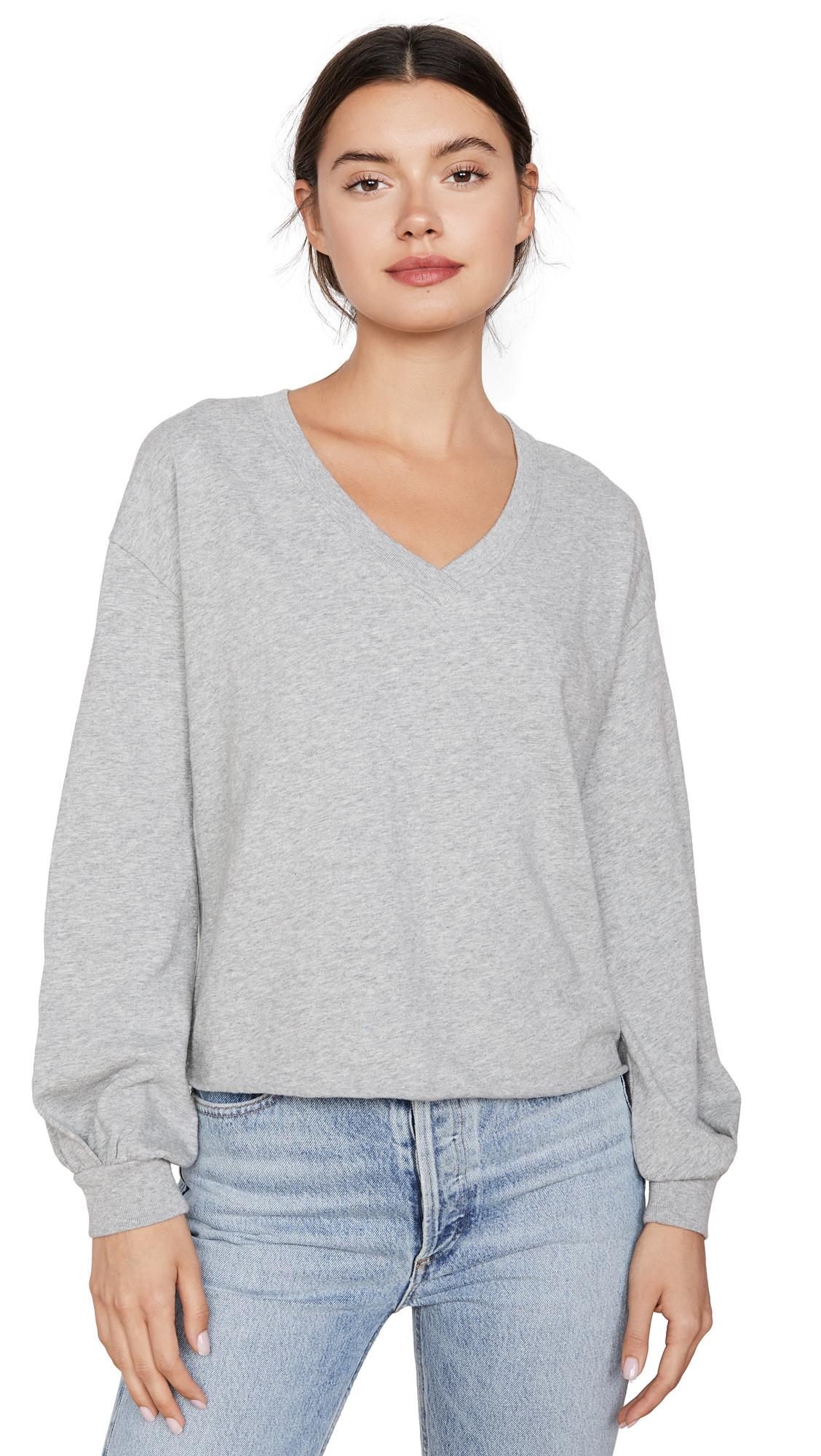 Nation LTD Willa Bishop Sleeve Cocoon Pullover