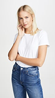 Nation LTD Marie Recycled Cotton Crop Tee
