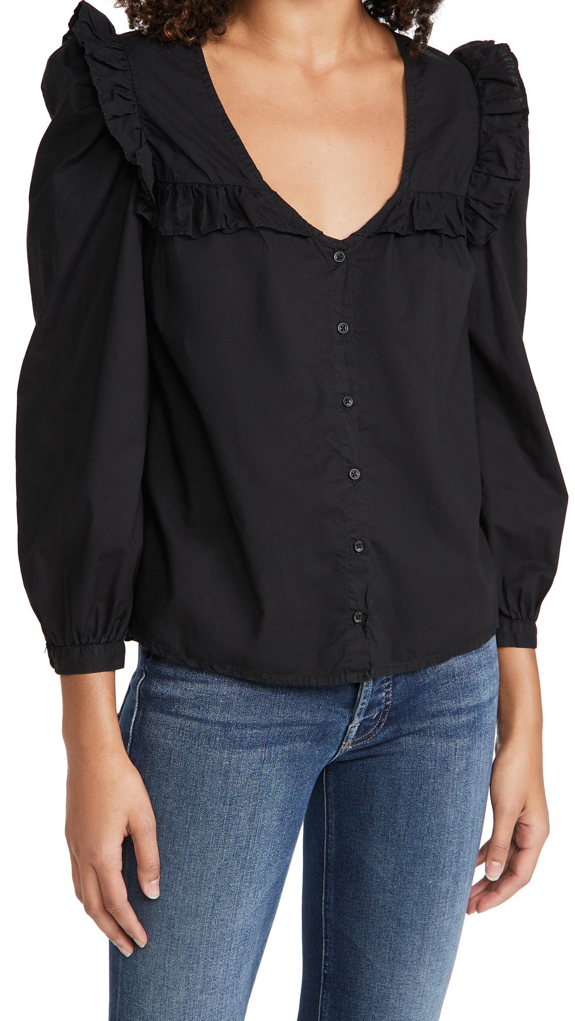 Nation LTD Tatiana Ruffled Shirt