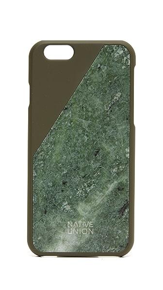 Native Union CLIC Marble iPhone 6 Case