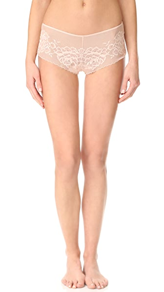 Natori Flora Girl Briefs - Cameo Rose