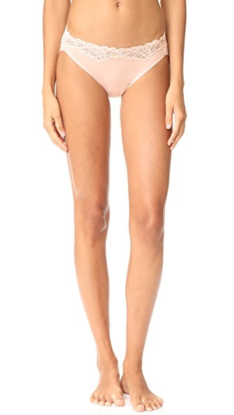 Natori Feathers Essence Bikini Panties - Cameo Rose