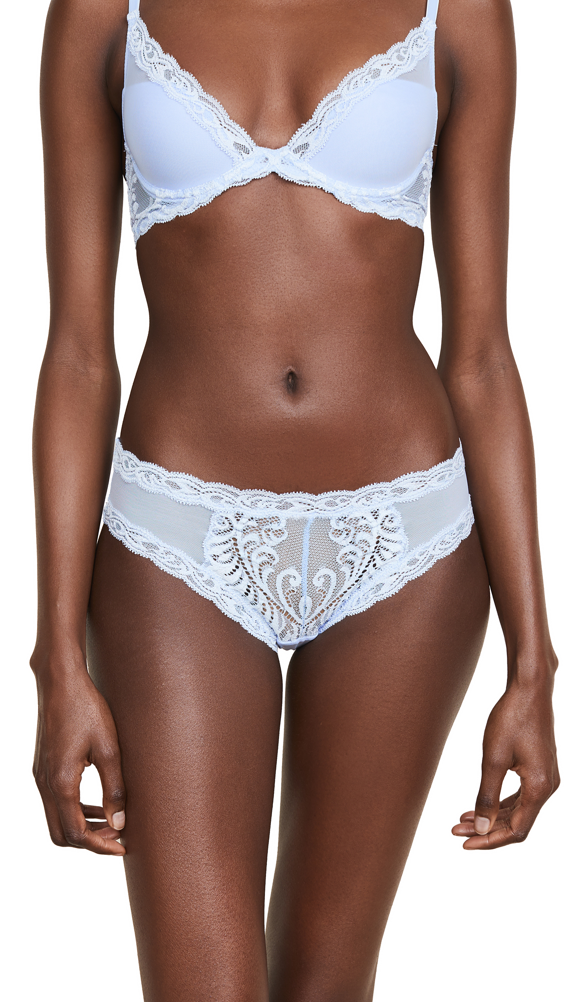 Natori Feathers Hipster Briefs In Skyfall