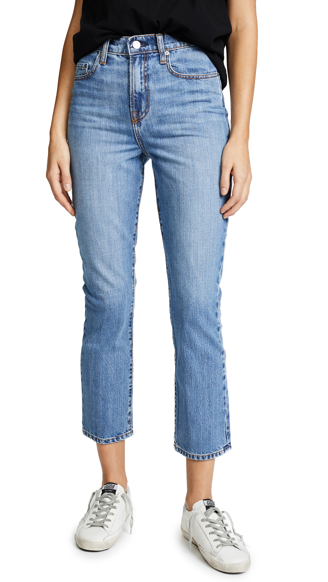 The Charlotte Tailored Straight Leg Jeans