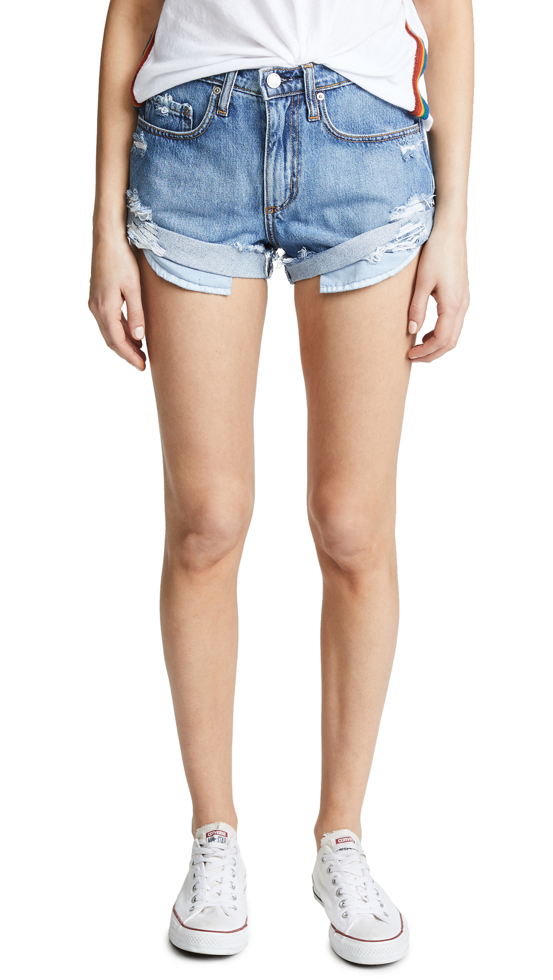 Nobody Denim The Boho Shorts In Sassy