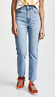 Nobody Denim Charlotte Super High Rise Ankle Jeans