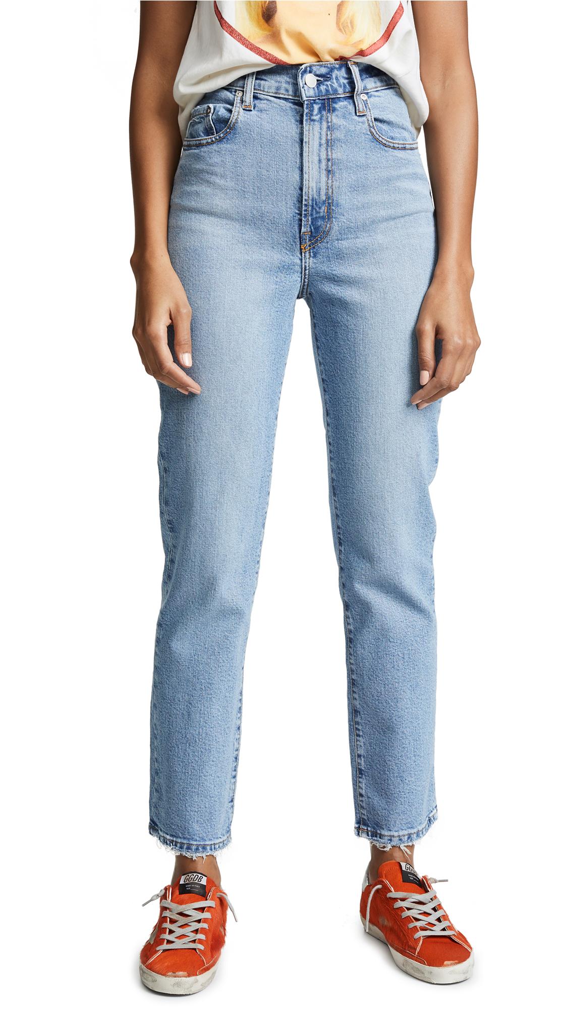Nobody Denim Denims Charlotte Super High Rise Ankle Jeans
