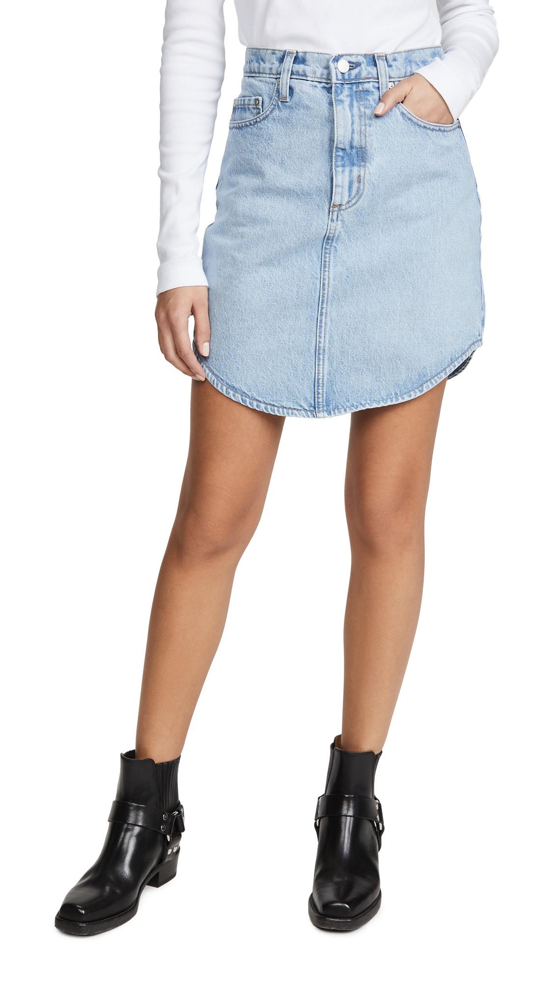 Buy Nobody Denim online - photo of Nobody Denim Tidal Short Skirt