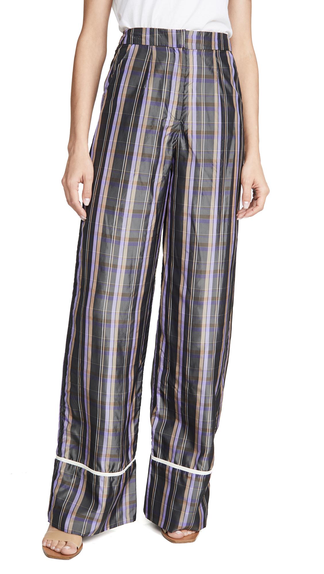 Buy N DUO online - photo of N DUO Striped Long Weekend Pants