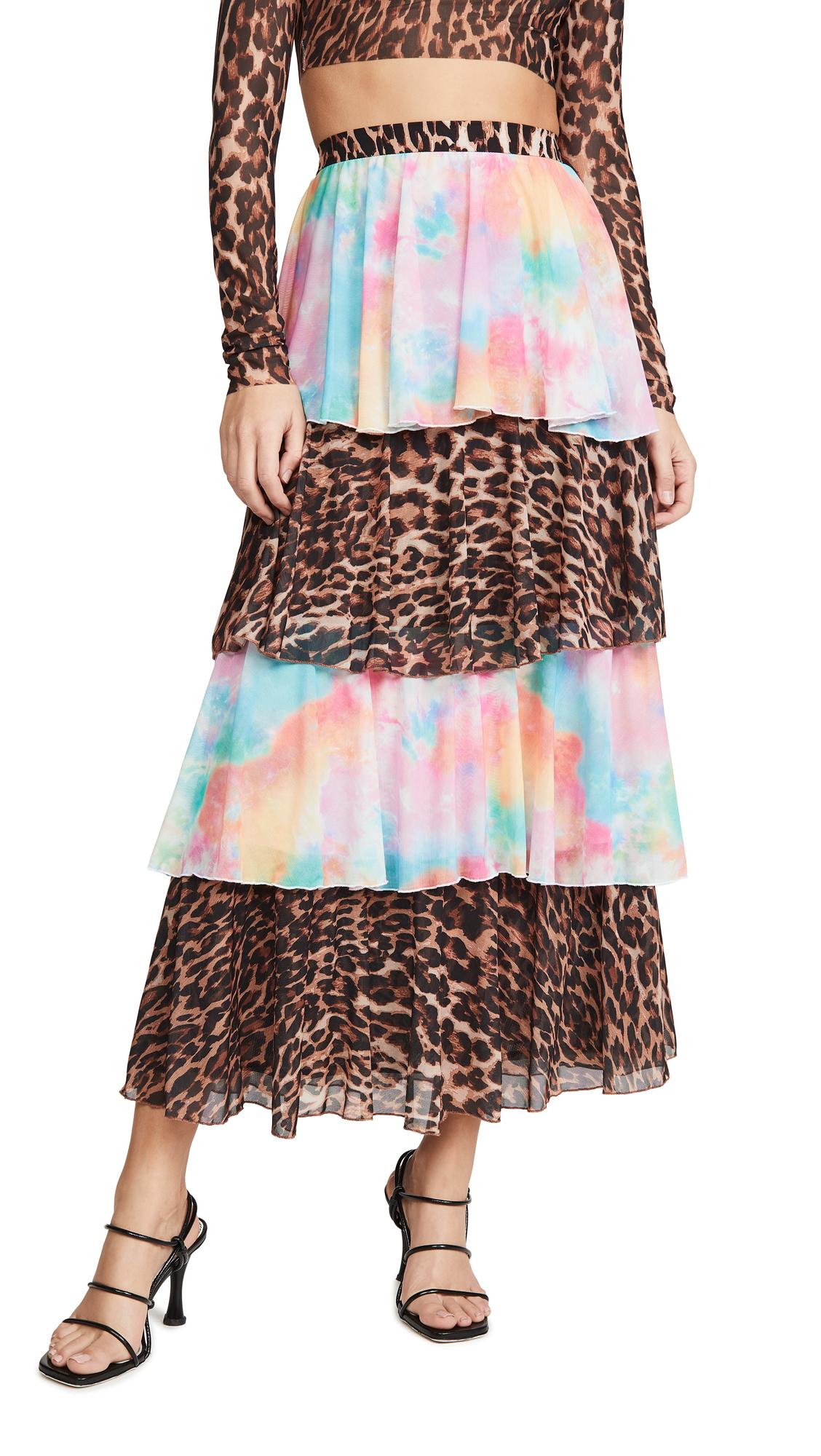 Buy N DUO online - photo of N DUO Ruffle Skirt