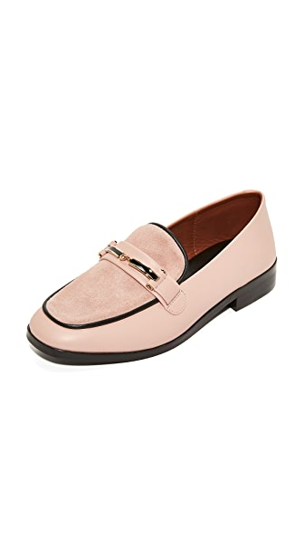Newbark Melanie Loafers - Blush/Black