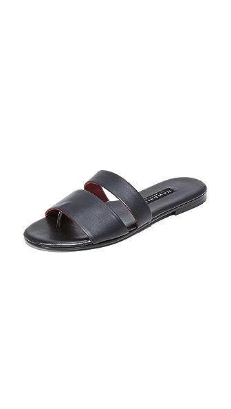 Newbark Roma III Slides - Black