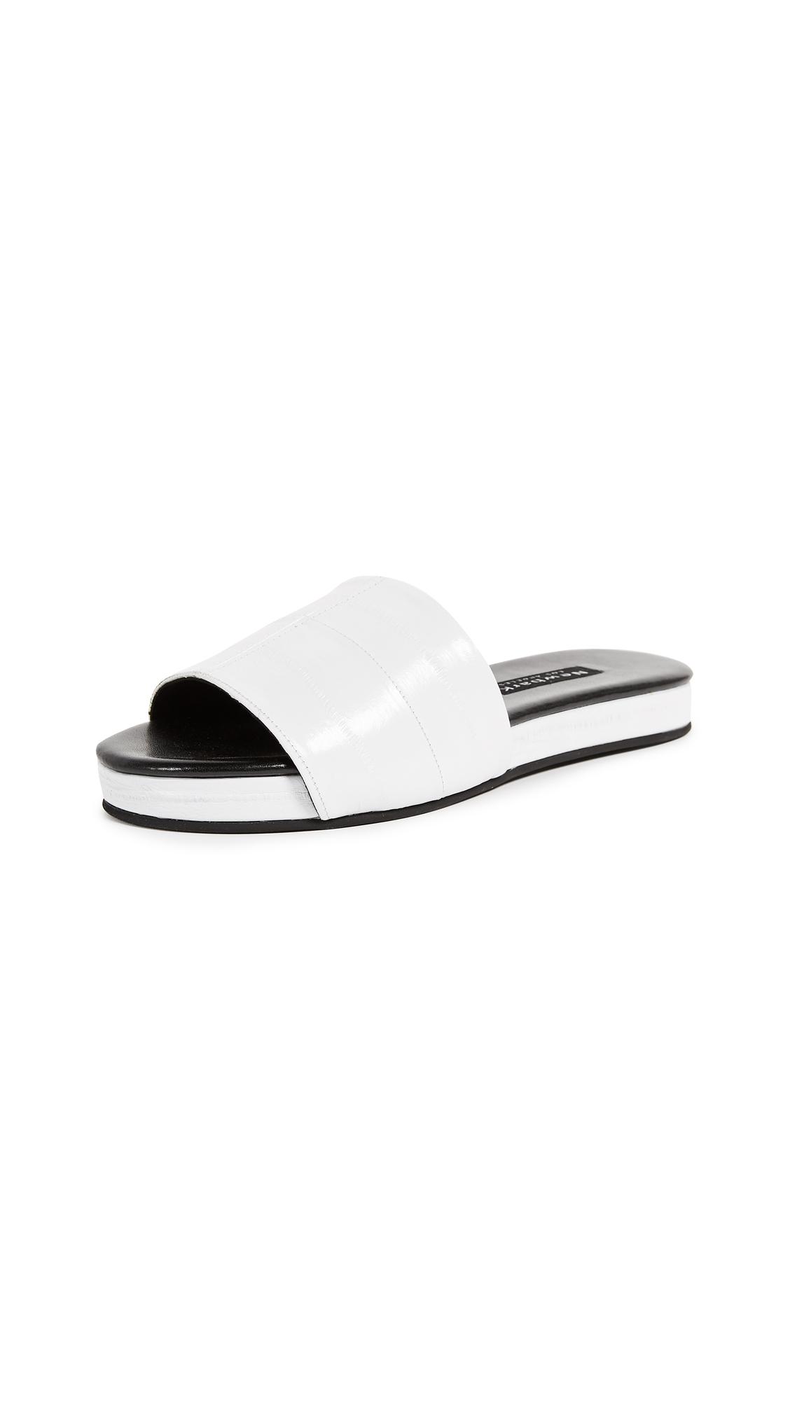 Newbark Frankie Slides In White