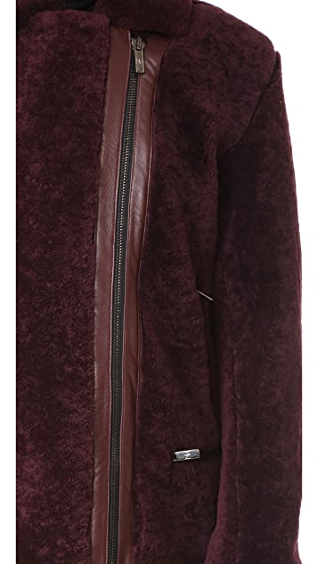 Nour Hammour Bastille Over-sized Perfecto Jacket
