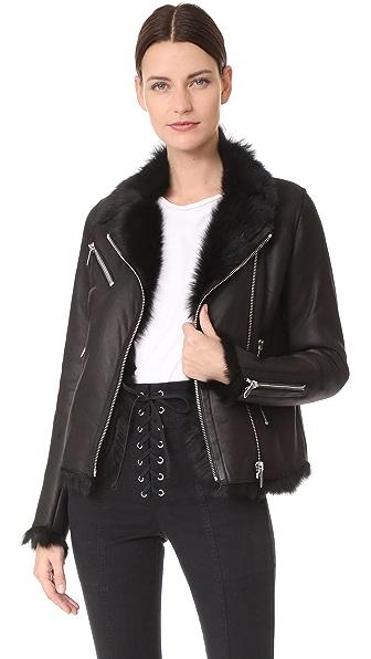 Nour Hammour Colette Jacket - Black