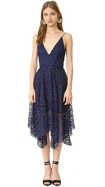 Nicholas Geo Floral Lace Ball Dress