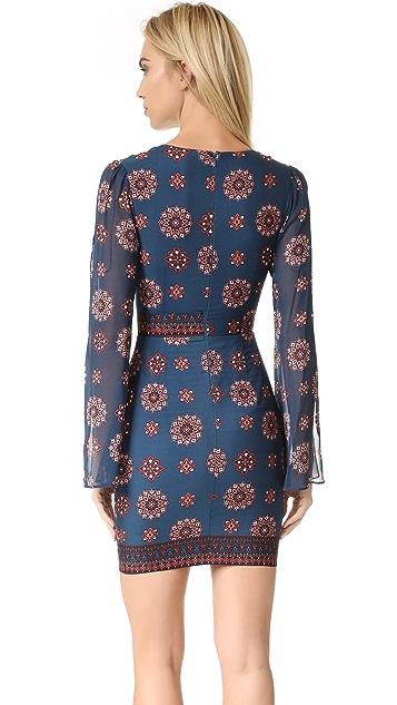 Nicholas Marrakesh Split Sleeve Mini Dress