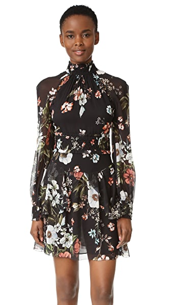 Nicholas Vintage Floral Mini Dress - Vintage Floral