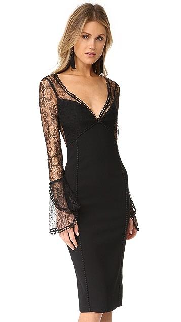 Nicholas French Lace Cocktail Dress