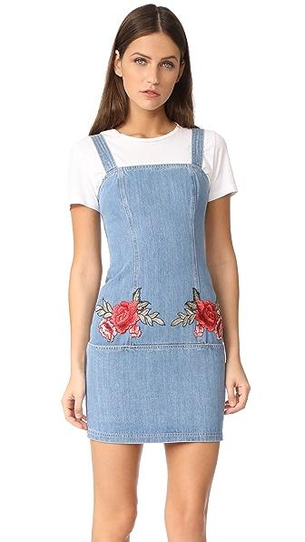 Nicholas N/Nicholas Embroidered Floral Mini Dress