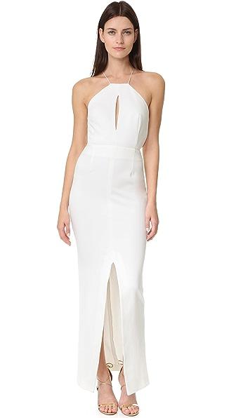 Nicholas N / Nicholas Ponte Rouleau Strap Gown
