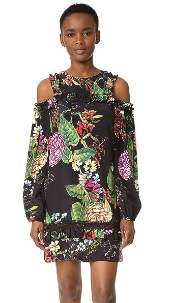 Nicholas Dahlia Print Mini Dress