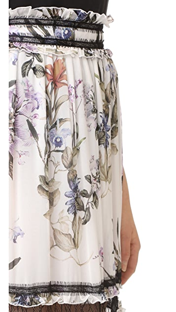 Nicholas Iris Floral Maxi Skirt