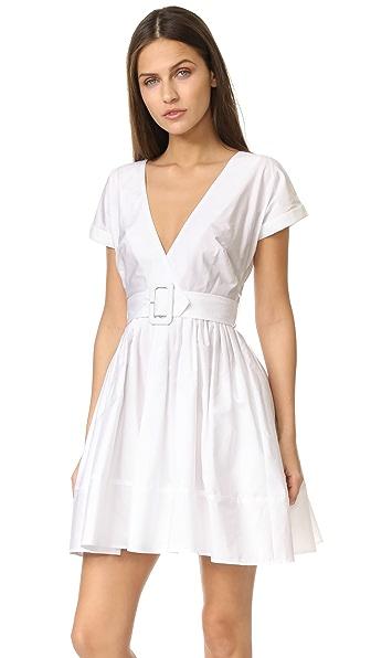 Nicholas N/Nicholas Wrap Front Mini Dress