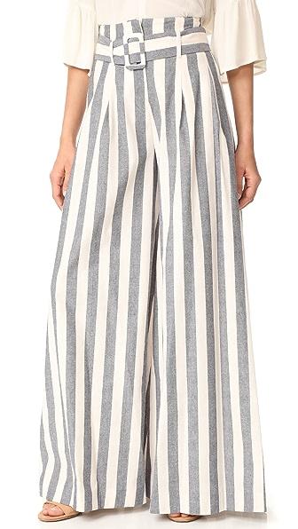 Nicholas N/Nicholas Santorini Stripe Wide Leg Pants