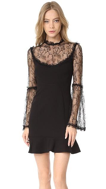 Nicholas Mini Flounce Dress