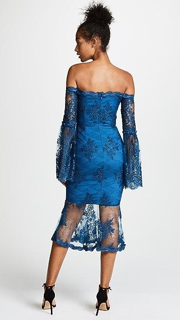 Nicholas Octavia Lace Midi Dress
