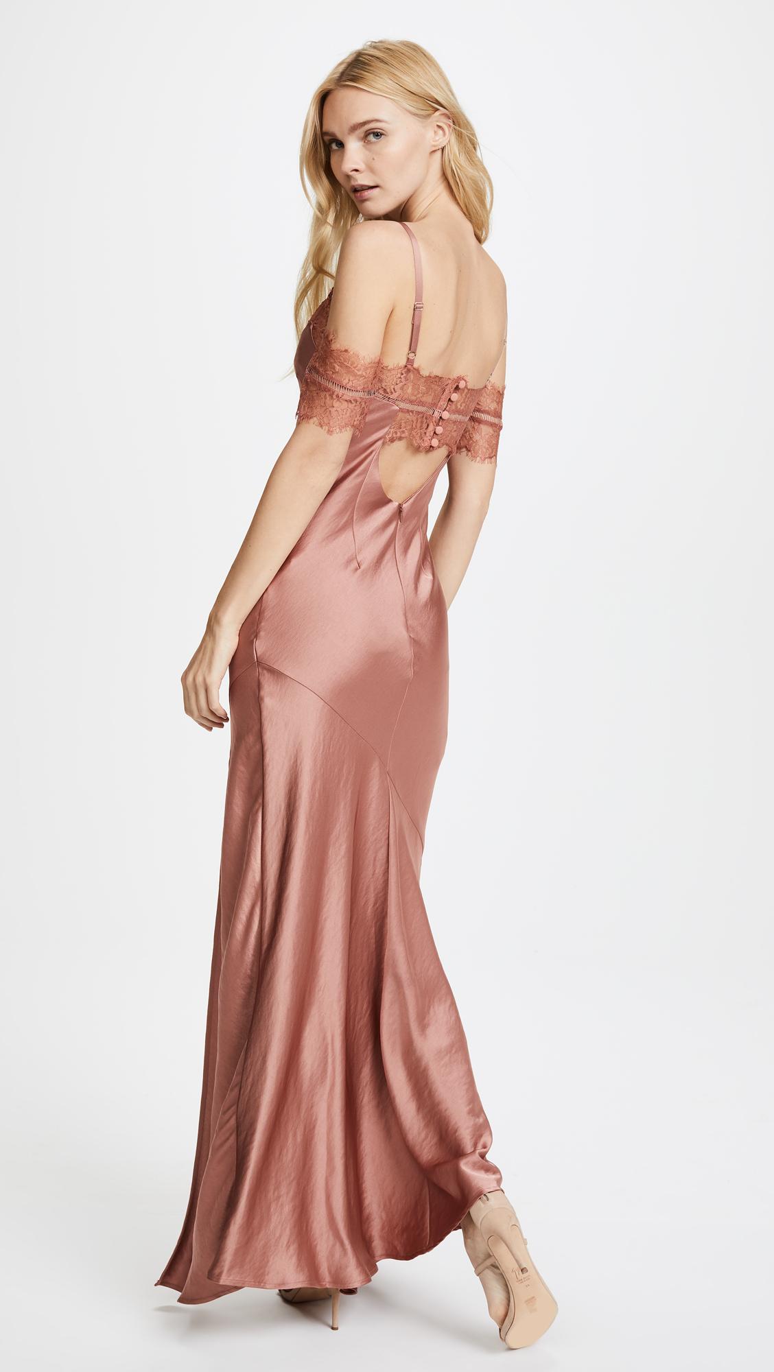 Nicholas Satin Bias Slip Dress   SHOPBOP