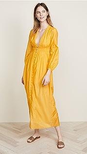 Nicholas N/Nicholas Smocked Maxi Dress