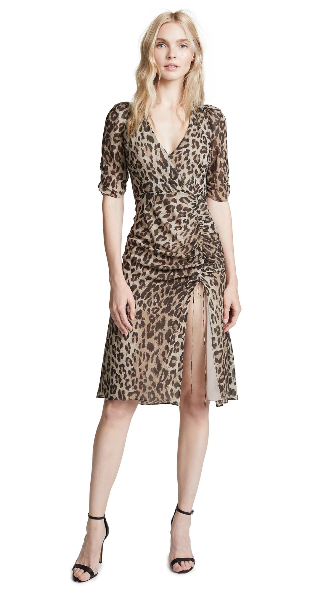 Nicholas Leopard Dress - Leopard