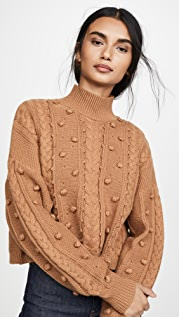 Nicholas Укороченный уютный свитер