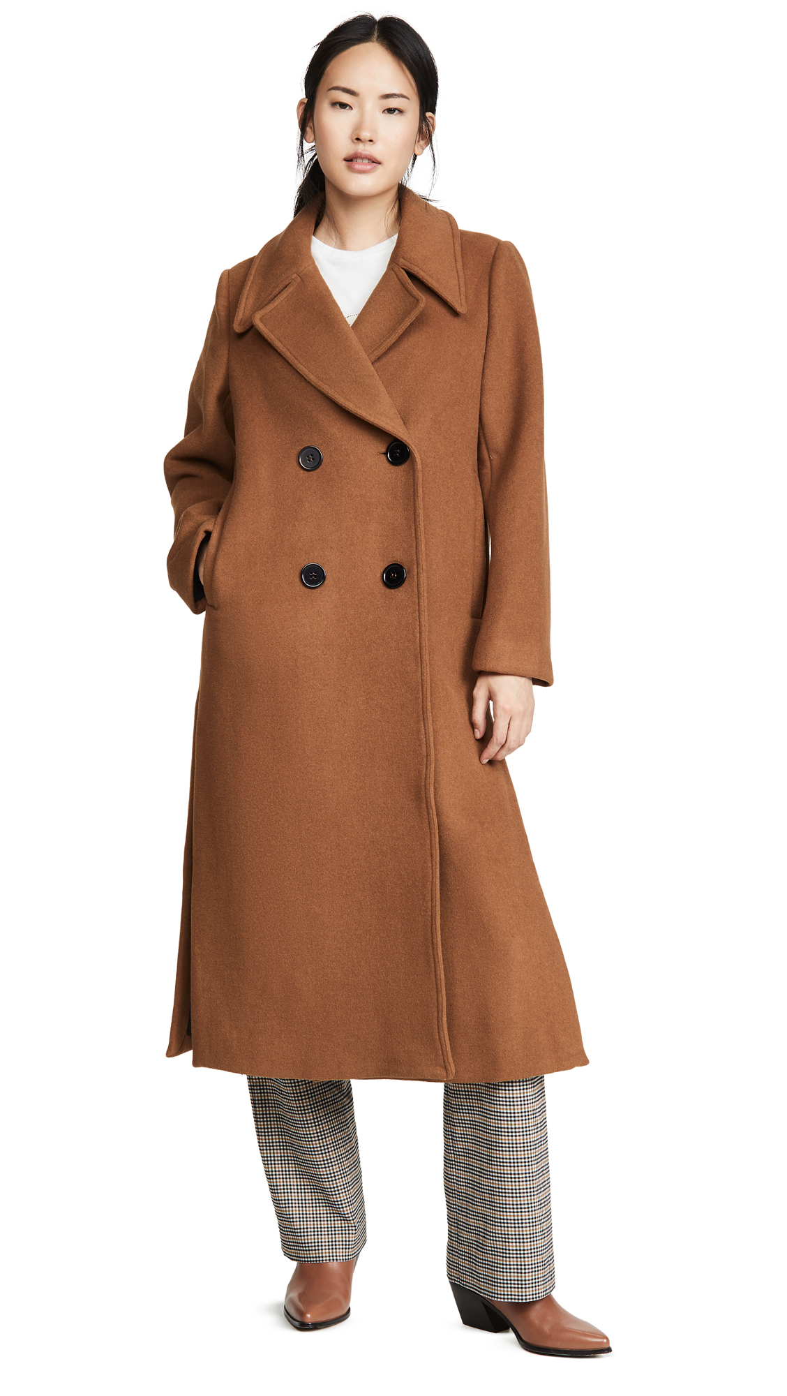 Buy Nicholas online - photo of Nicholas Double Breasted Coat
