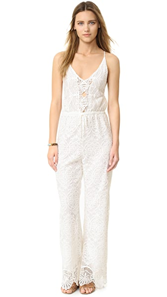 Nightcap x Carisa Rene Coconut Palm Jumpsuit