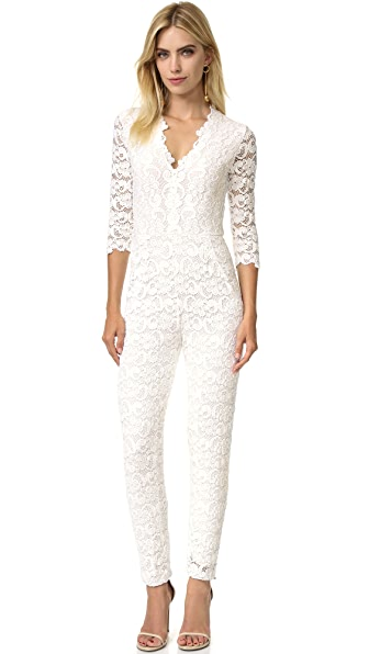 Nightcap x Carisa Rene Deep V Dixie Lace Catsuit