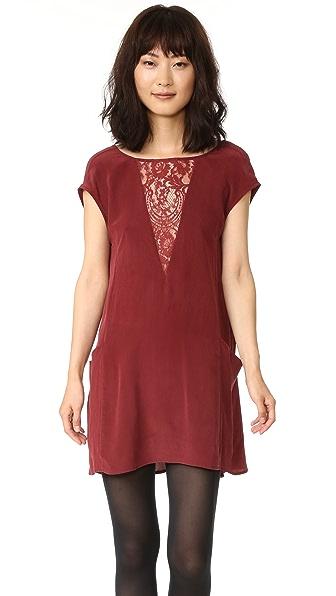 Nightcap x Carisa Rene Chantilly Shift Dress - Wine