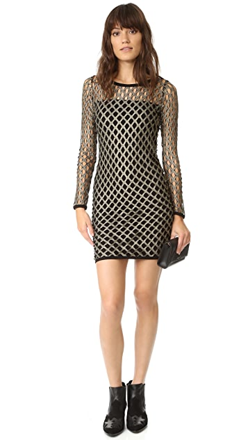 Nightcap x Carisa Rene Pyrite Crew Neck Dress