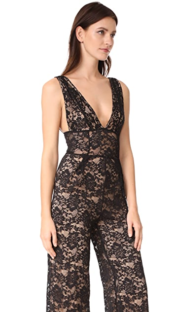 Nightcap x Carisa Rene Decollete Jumpsuit