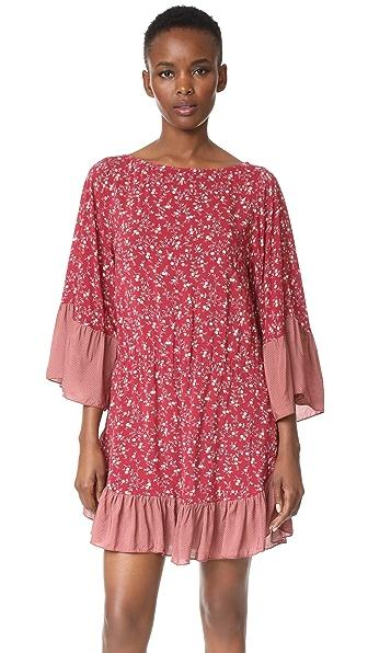 Nightcap x Carisa Rene Desert Winds Mini Dress - Calico
