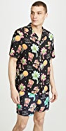 NIKBEN Tiki Tropical Button Up Shirt